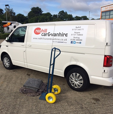 Van Hire For Moving Barrow and Blankets Provided