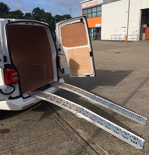Van Hire Ramps Provided Redhill