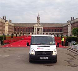 redhill car and van hire photo competition winner Chelsea Flower Show