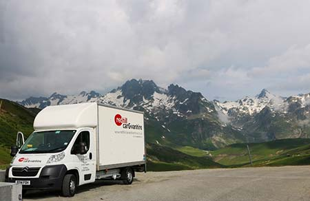 YMCA French Alps with redhill van hire