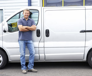 man and hire van redhill