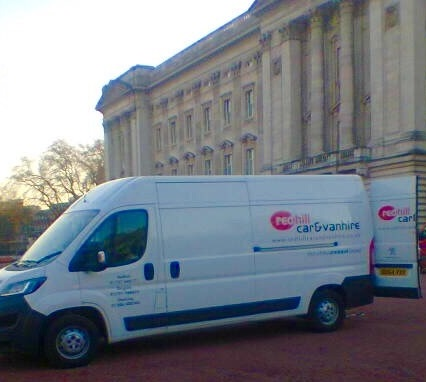 Buckingham Palace Van Hire